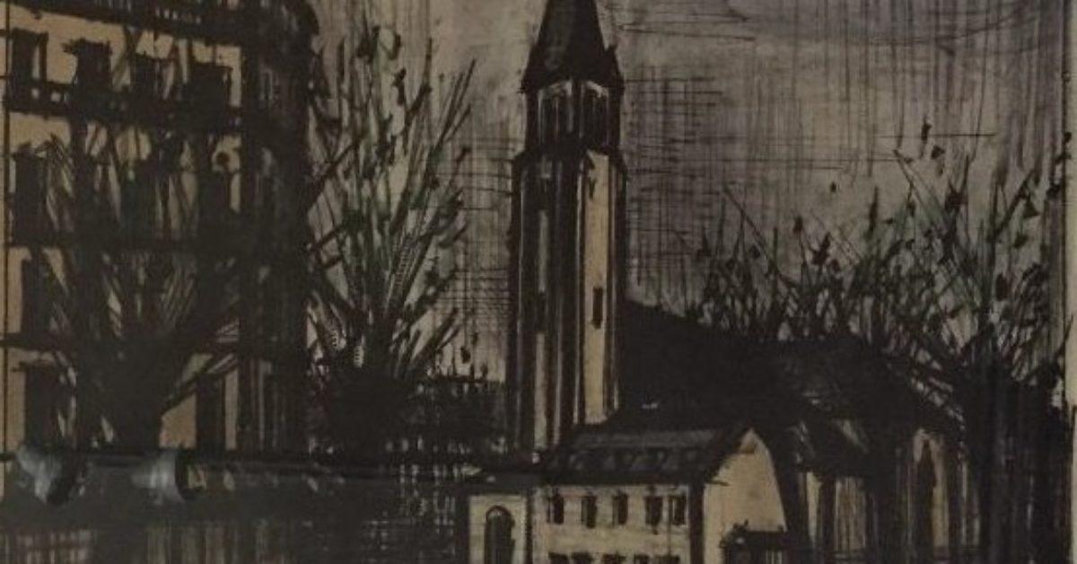 Saint-Germain-des-Pres, from Album Paris
